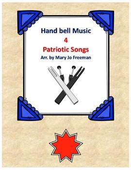 Hand Bell Music - Patriotic bundle