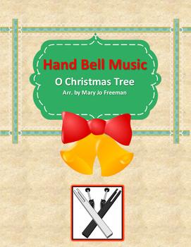 Hand Bell Music - O Christmas Tree