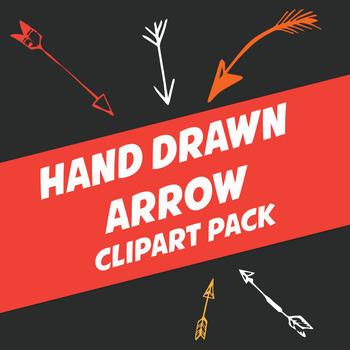 Hand Drawn Arrows Clip Art