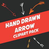 Hand Drawn Arrows Clip Art