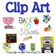 Hand Drawn Clip Art - Back to School - For Use in Digital Resources!