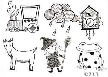 Hand Drawn Clip-Art Variety Pack