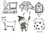 Hand Drawn Clip-Art Variety Pack