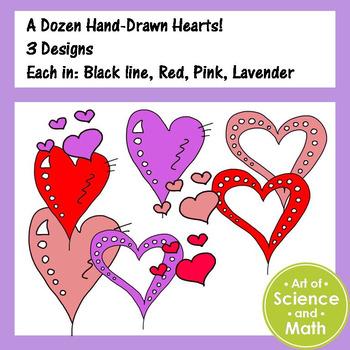 Clip - Art Hearts Freebie