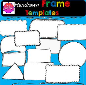 Hand Drawn Frame Templates