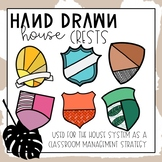Hand Drawn House Crests