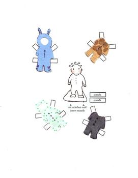 Hand Drawn Paper Dolls