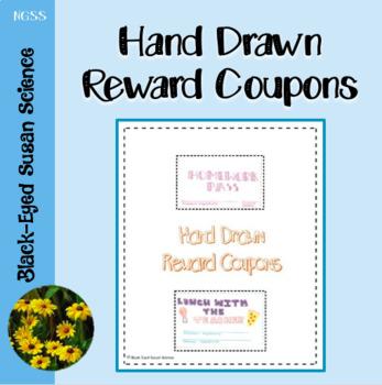 Hand Drawn Reward Coupons
