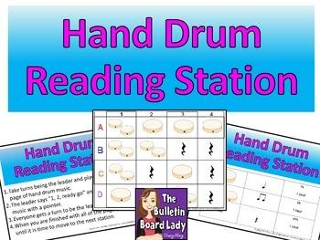 Hand Drum Reading Workstation