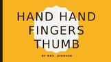 Hand Hand Finger Thumb Rhythm Powerpoint