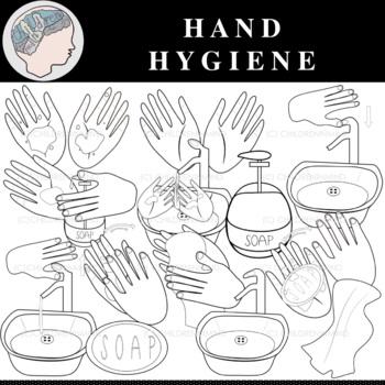 Hand Hygiene Clipart - COVID-19 - Hand Washing Clipart ...