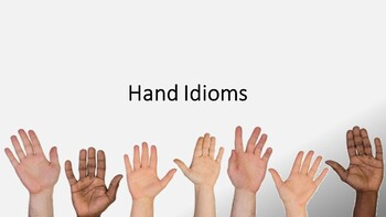 Hand Idioms PowerPoint