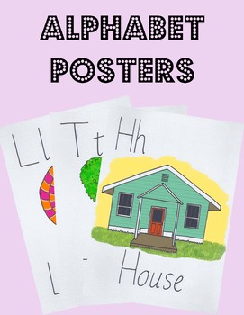 Hand Illustrated Alphabet Printable Posters