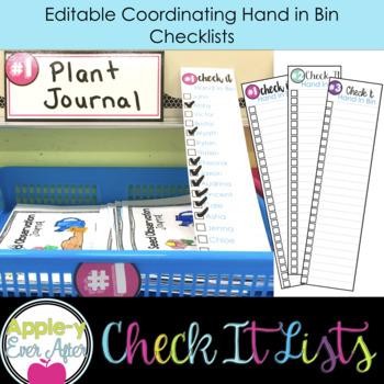 Hand In Bin - Classroom Work Solution