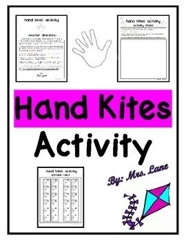 Hand Kites Activity