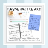 Cursive Handwriting Practice Book A to Z