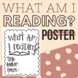 "Hand-Lettered ""What am I Reading?"" Poster"