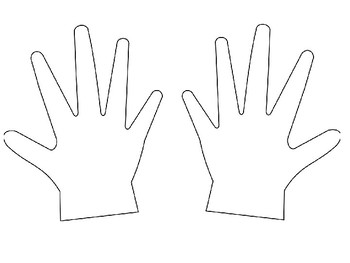 Hand Number Line 1 to 10