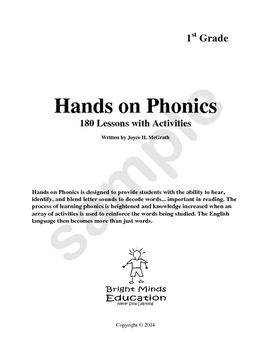 Hand On Phonics Sampler