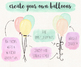 Hand Painted Colorful Watercolor Balloon Clipart - 49 PNG
