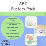 Watercolour Alphabet Sounds Chart Activity Pack