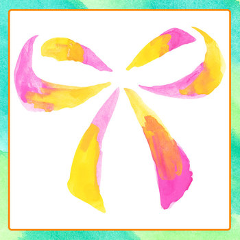 Hand Painted Watercolor Bows Clip Art Set for Commercial Use