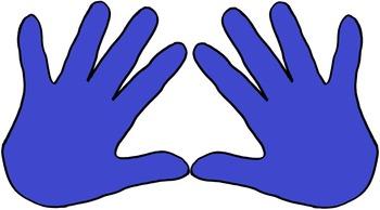 Hand Pairs Clipart