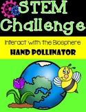Hand Pollinator STEM Challenge