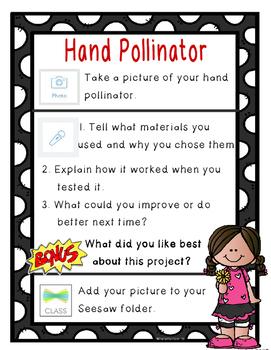 Hand Pollinator Seesaw Checklist