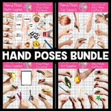 Hand Poses for Resource Covers   Real Photos   Flatlay   S