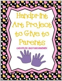 Hand Print Poem Gift for Parents
