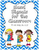 Hand Raising Signals