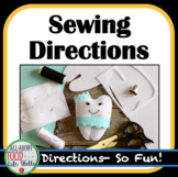 Hand Sewing Direction Steps