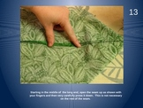 Hand Sewing Final Project: Drawstring Bag Powerpoint Steps