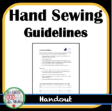 Hand Sewing Guidelines