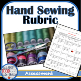 Hand Sewing Felt Pillow Instructions and Grading Rubric