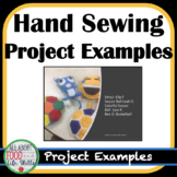 Hand Sewing Project Examples!  FACS, FCS