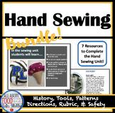 Back to School! Hand Sewing Unit Bundle (FACS, FCS)