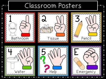 Terrific Hand Signal Classroom Pack Download Free Architecture Designs Scobabritishbridgeorg