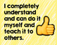 Hand Signal Level of Understanding Posters - FREEBIE!