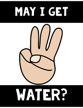 Hand Signal Posters | Black/White & Multicultural