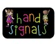 Hand Signal Posters {Bright & Colorful} {Classroom Management}  {Free!}