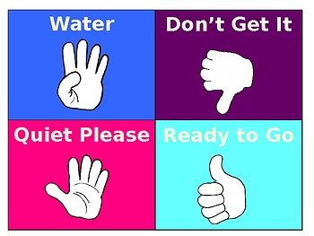 Hand Signal Signs