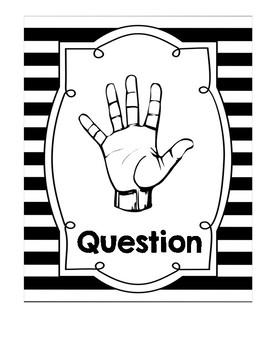 Hand Signals - B&W