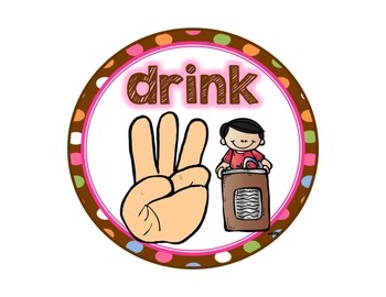 Hand Signals: A Classroom Management Tool {Chocolate Polka Dots Decor}