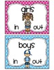 Hand Signals & Boys/Girls Sign-out Station {FREEBIE}