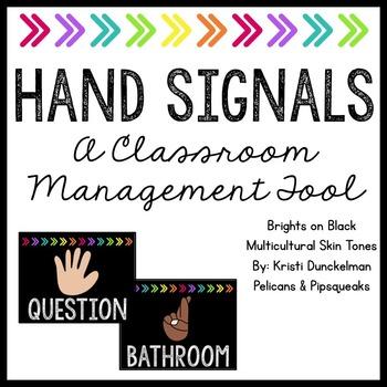 Hand Signals -- Brights on Black