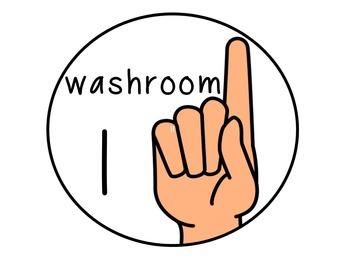 Hand Signals - Classroom Management and Assessment