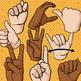 Hand Signals Clip Art and Poster Set - Classroom Management