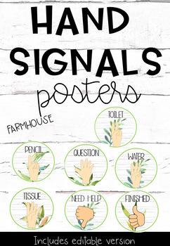 Hand Signals- Farmhouse